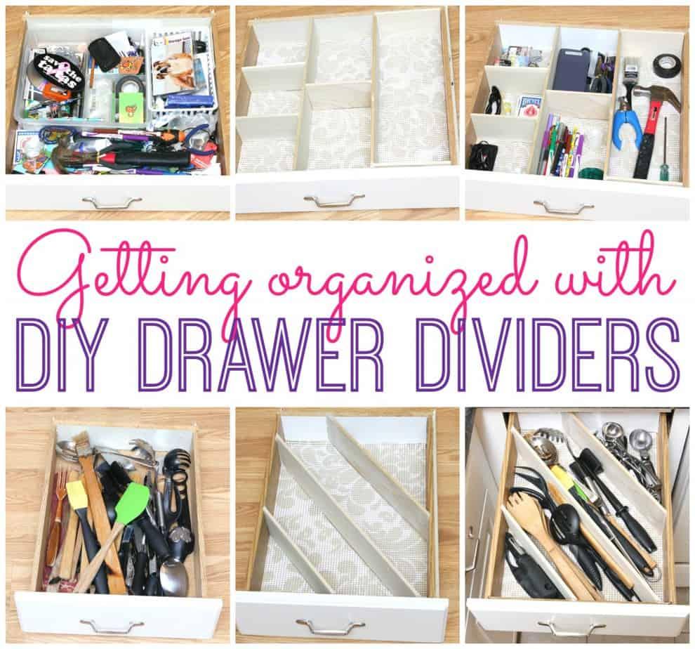 Kitchen Drawer Organizing Diy Drawer Dividers