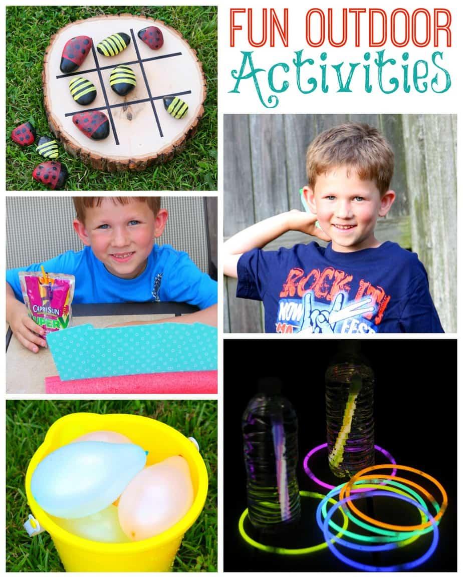 outdoor summer fun activities