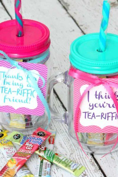 Tea-riffic Gift Idea
