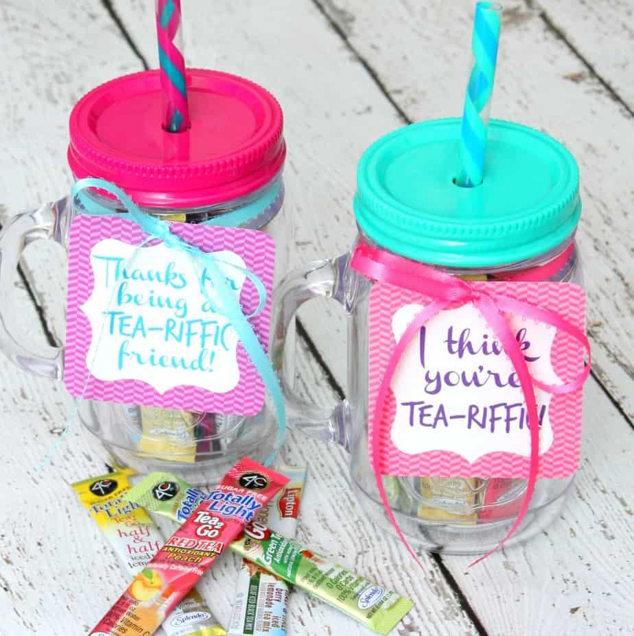 Tea-riffic gift for a friend