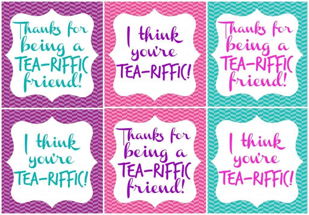 tea-riffic teacher printable | just b.CAUSE