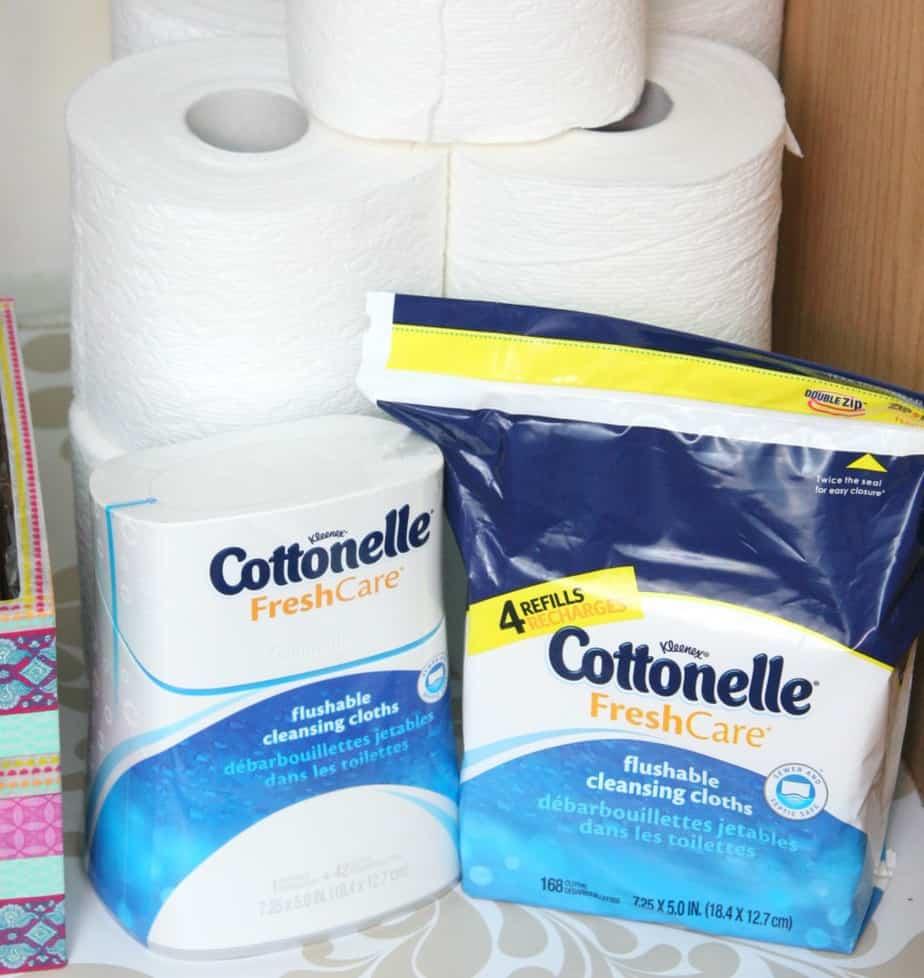 Cottonelle Flushable Wipes #letstalkbums