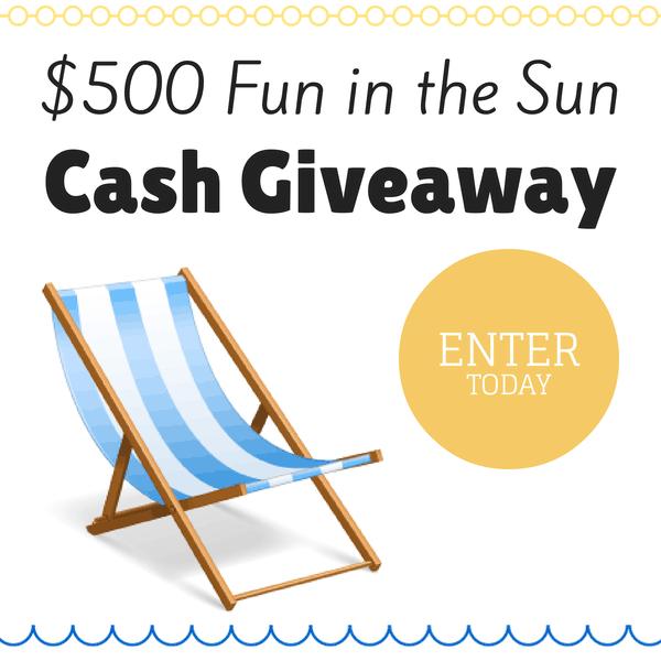 Fun Sun Cash Giveaway