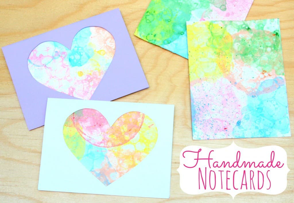 homemade notecards