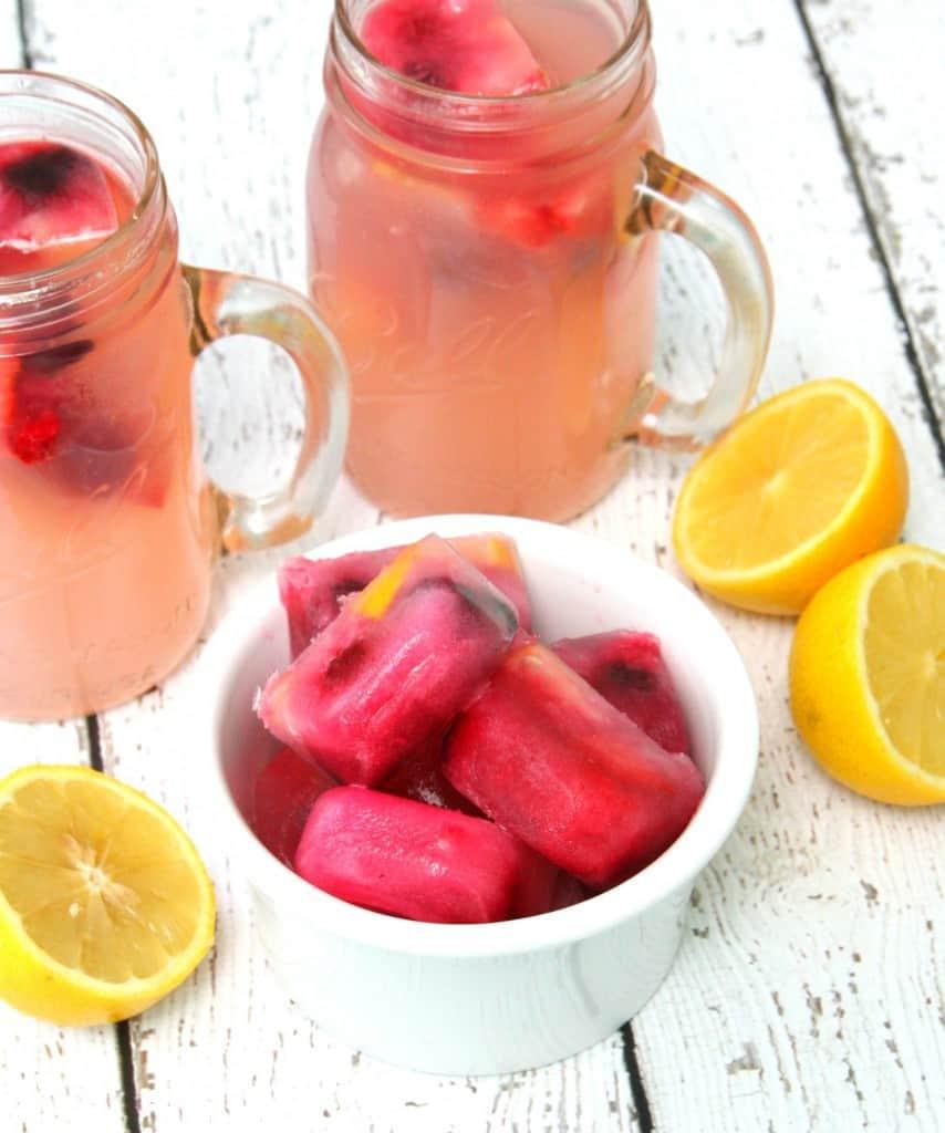lemonade fruit ice