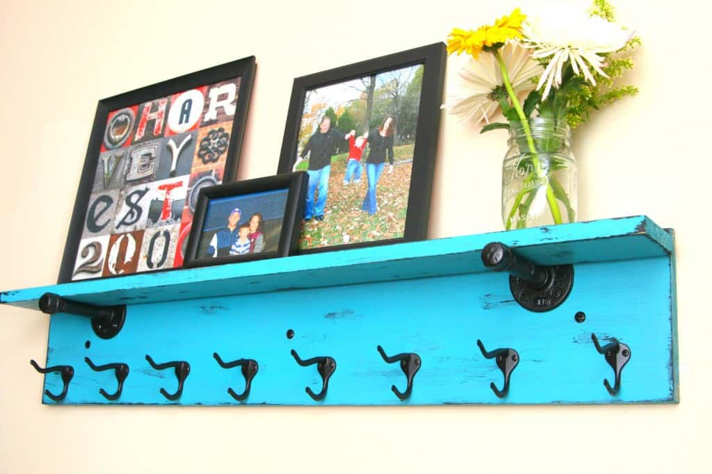 Entryway Shelf and Coat Rack