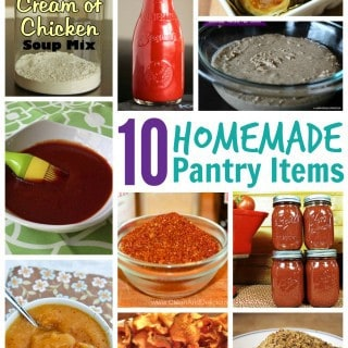 Homemade Pantry Items You Can Easily Make Yourself