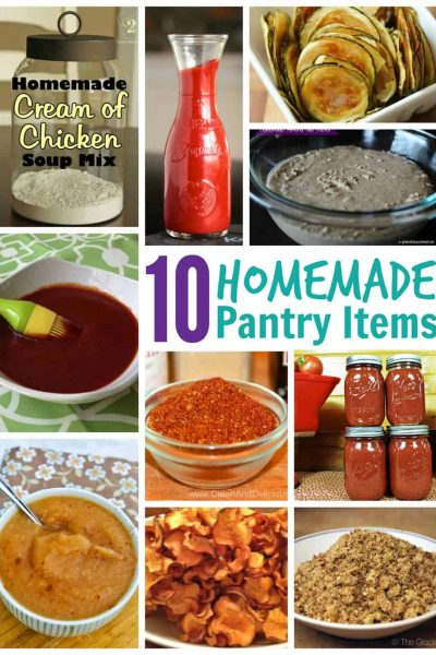 10 homemade pantry items