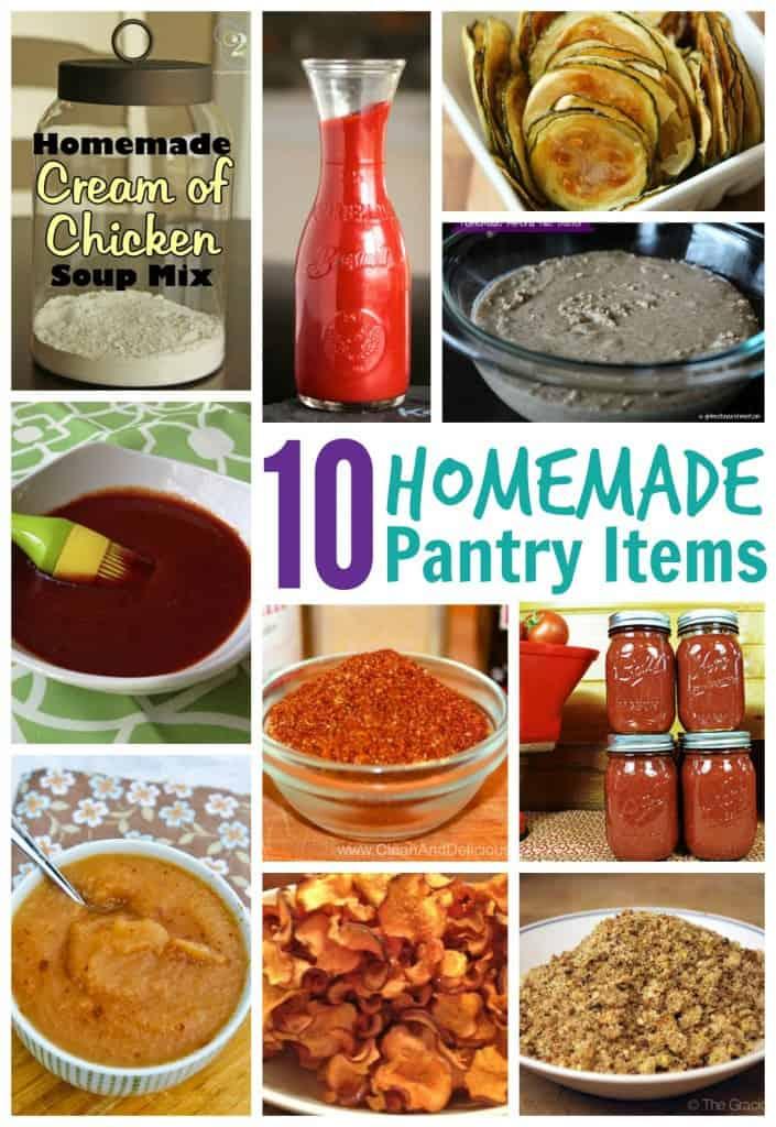 10 homemade pantry items
