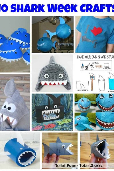 10 Shark Week Crafts