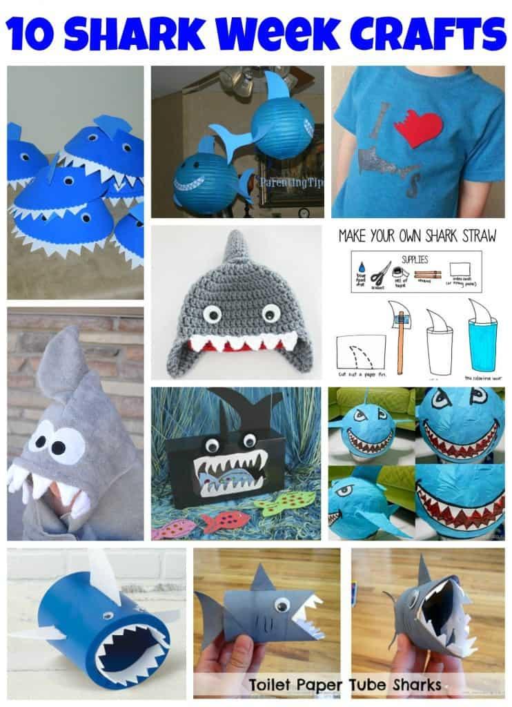 10 Shark Week Crafts