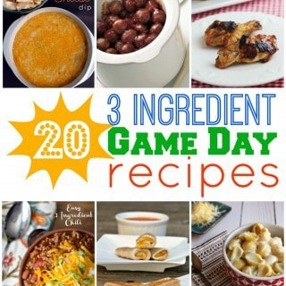 3 Ingredient Recipes Perfect for Game Day