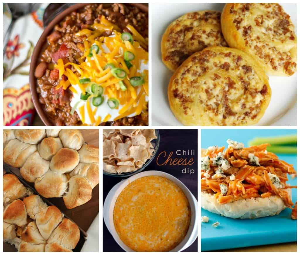 3 ingredient game day recipes