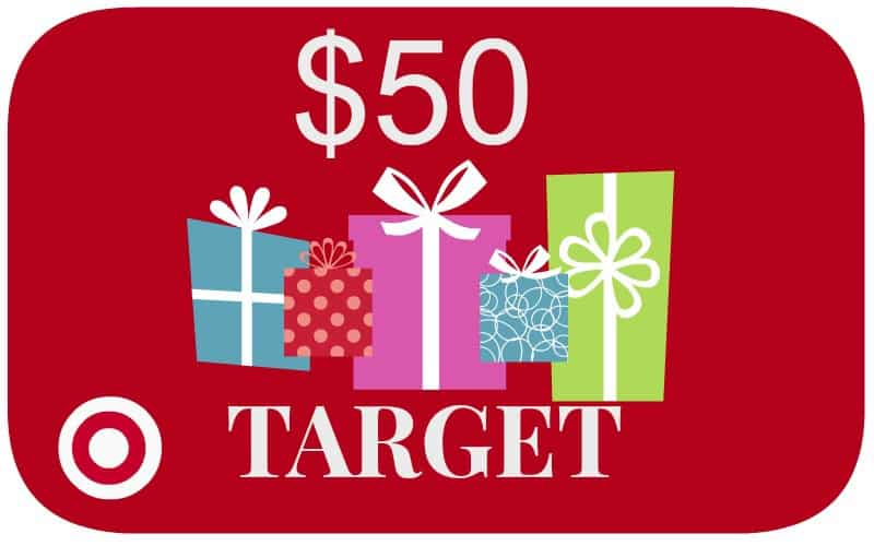 50 Target Gift Card Giveaway