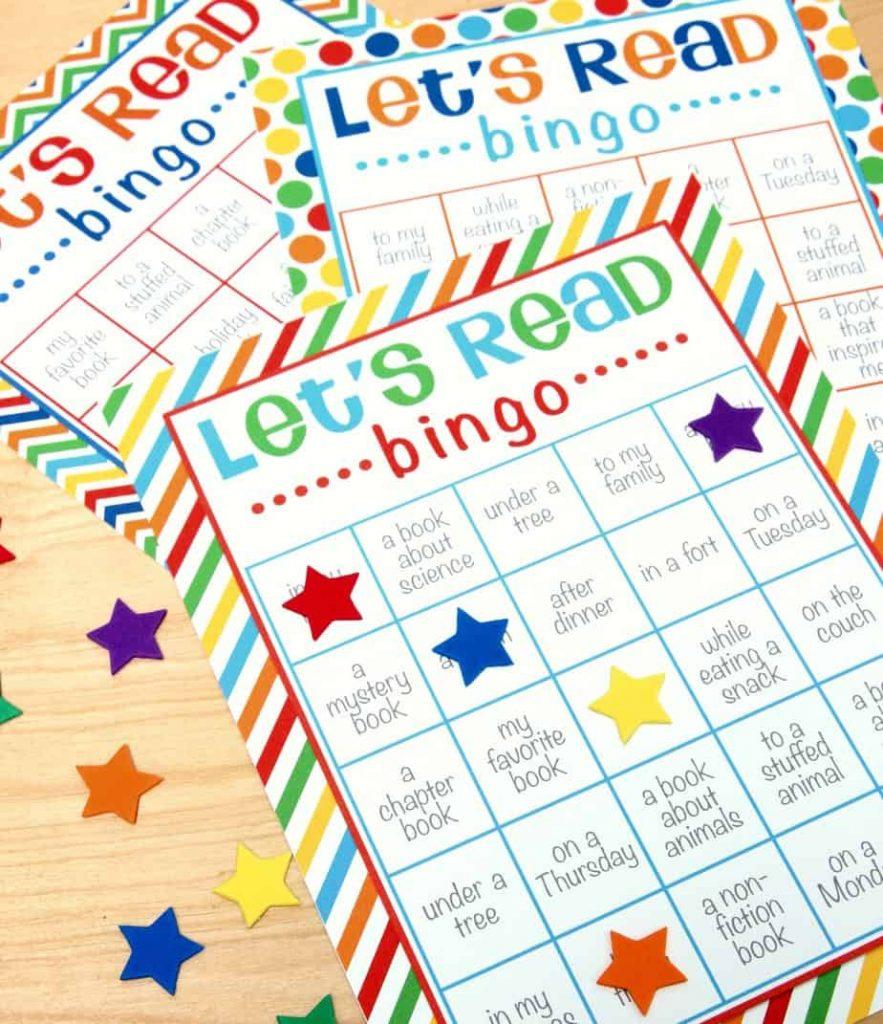 Let's Read Bingo - Free Printable