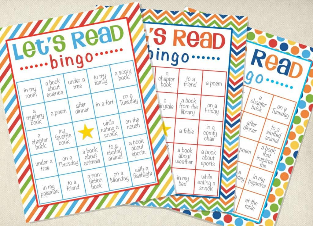 Reading Bingo - Let's Read