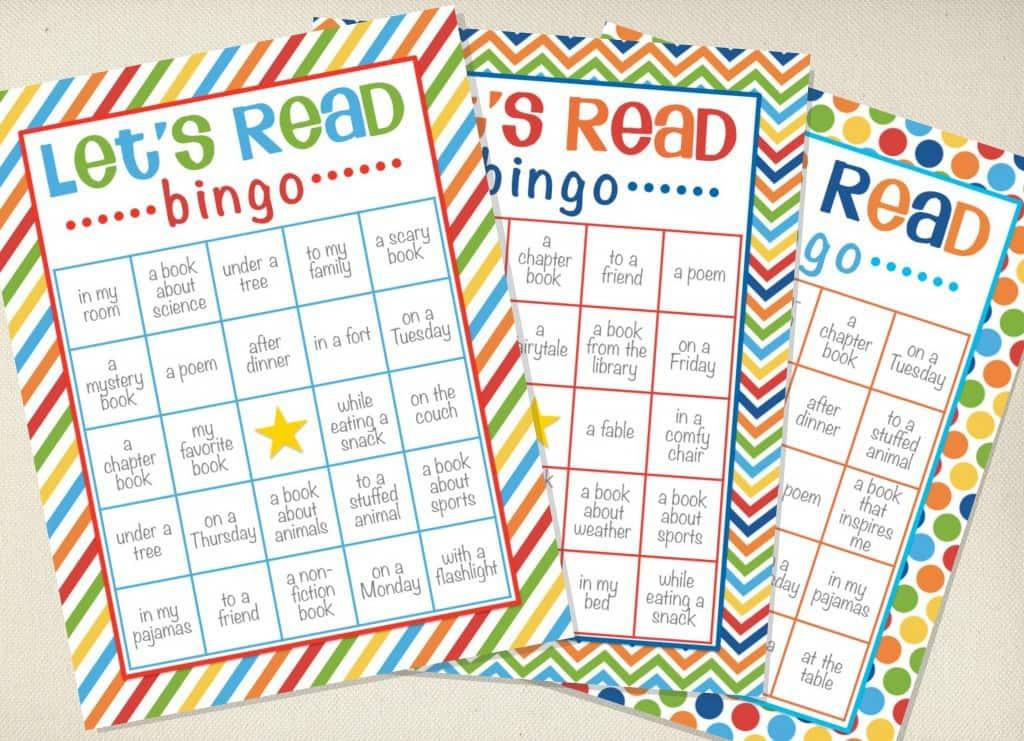Reading Bingo - Let's Read