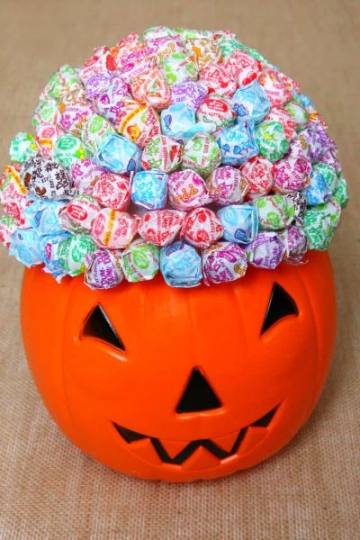 Lollipop Pumpkin Bouquet