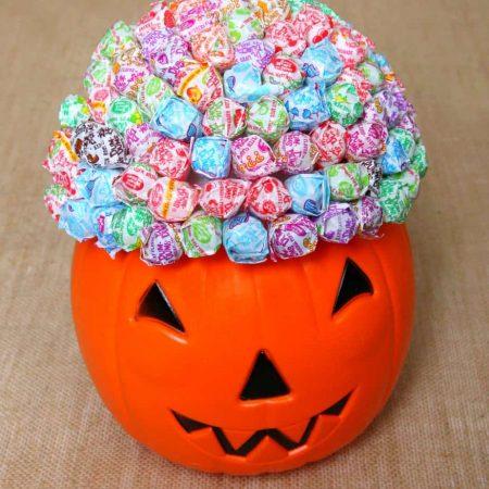 Lollipop Pumpkin Bouquet