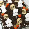 Spooky Halloween Oreo Poke Cake