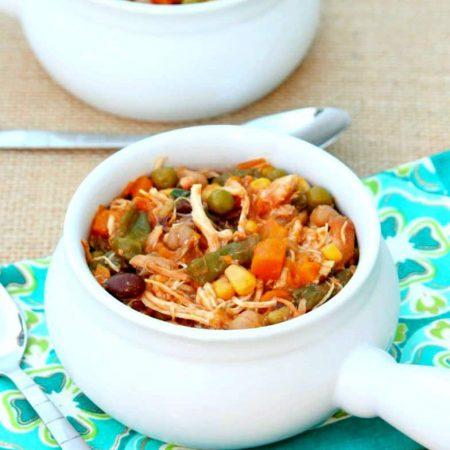 Chicken Stew in Slow Cooker