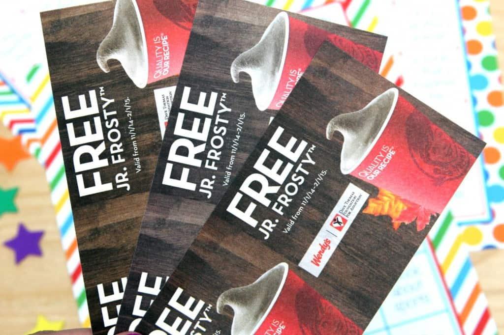 frosty coupon - Reading Bingo