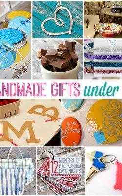 Handmade Gifts Under $5
