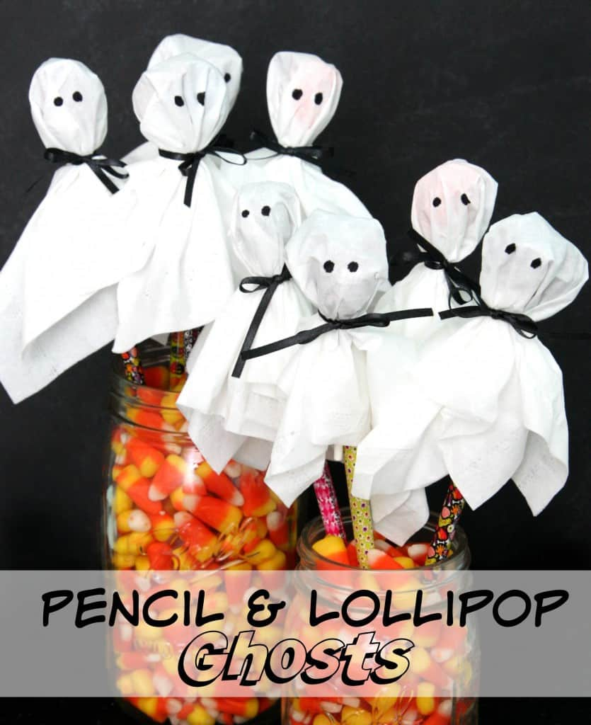 Pencil and Lollipop Ghosts