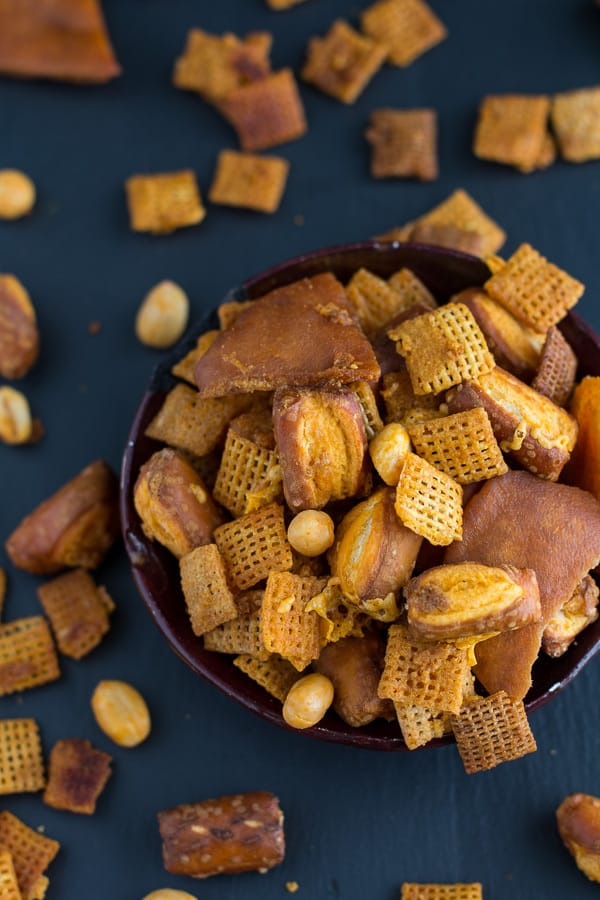Buffalo Cheddar Chex Mix
