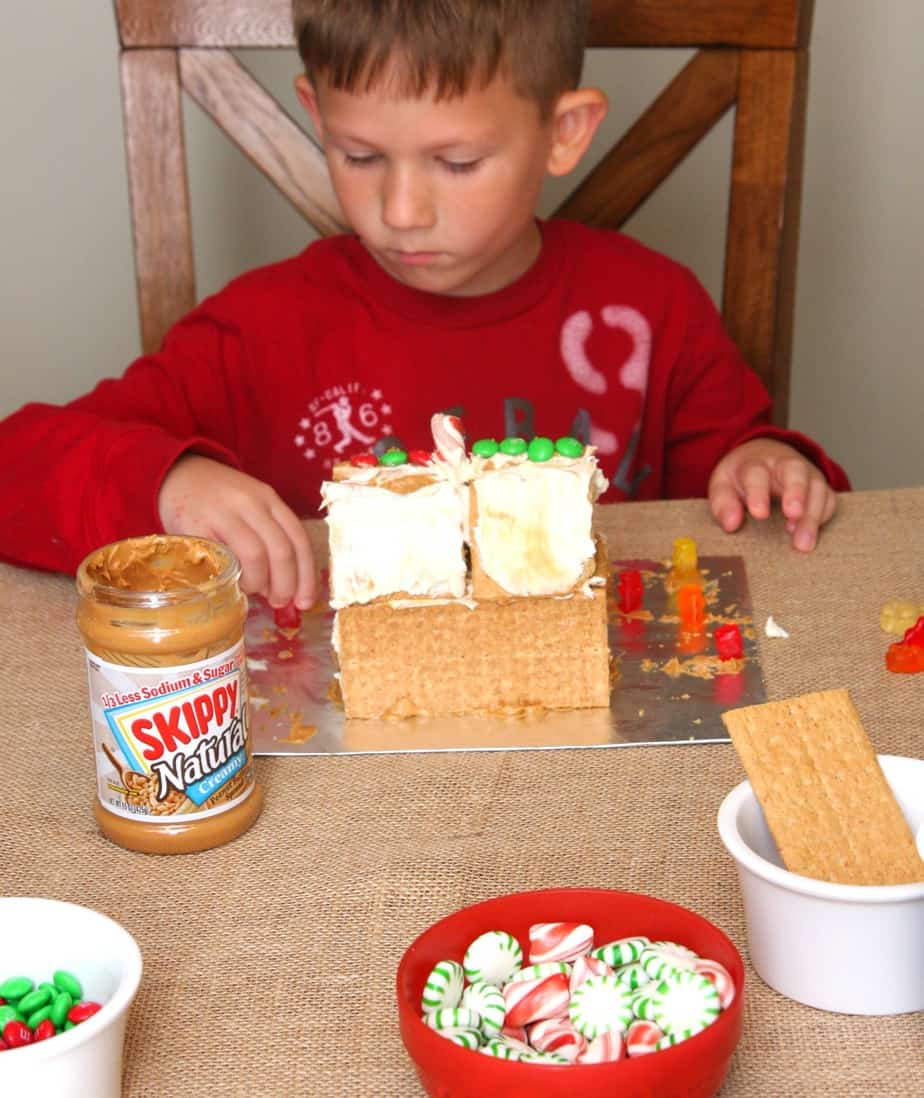 Peanut Butter and Graham Cracker Houses #PBandG #CollectiveBias