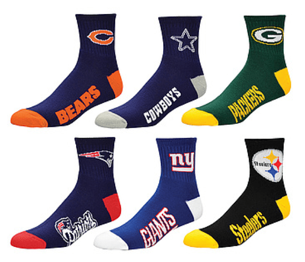 NFL Socks - stocking stuffer idea