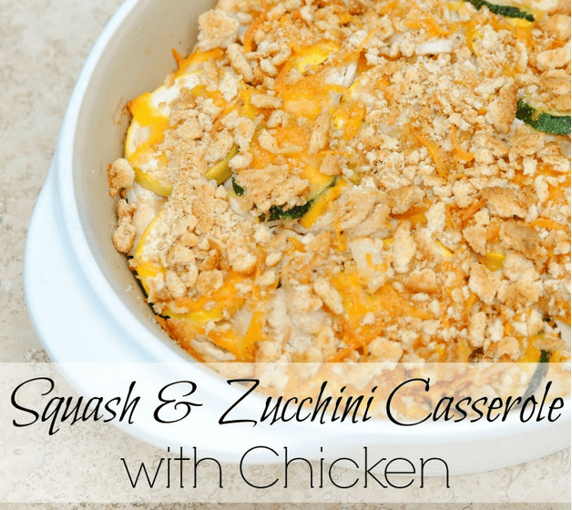 Squash Zucchini Chicken
