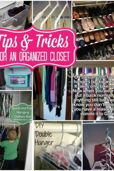 Tips and Tricks for an Organized Closet