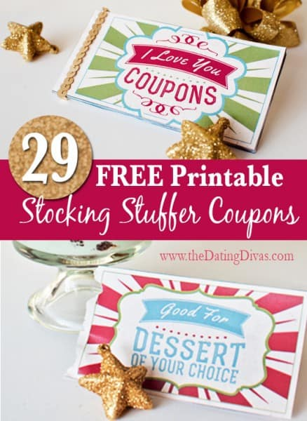 stocking stuffer idea - coupon book