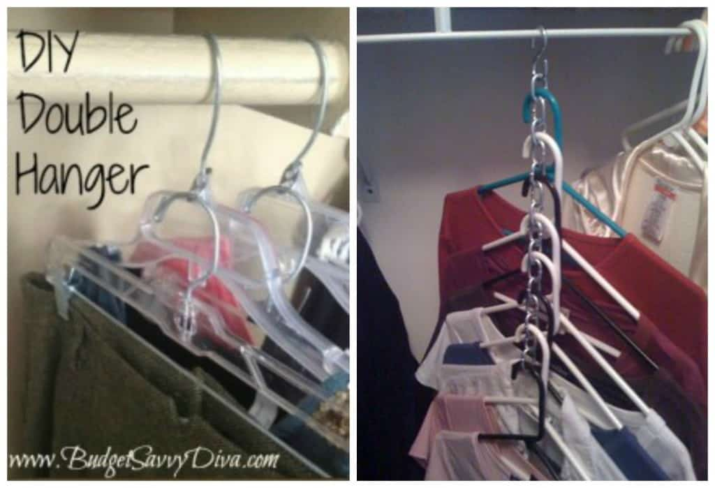 Tips and tricks for an organized closet - Space saving closet ideas ...