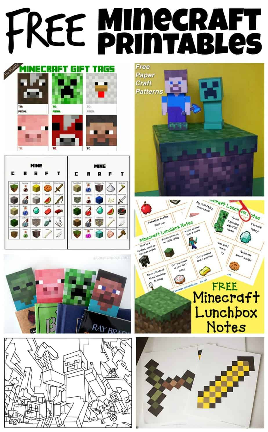 Ve Also Rounded Up Some Awesome Minecraft Printables That I Found