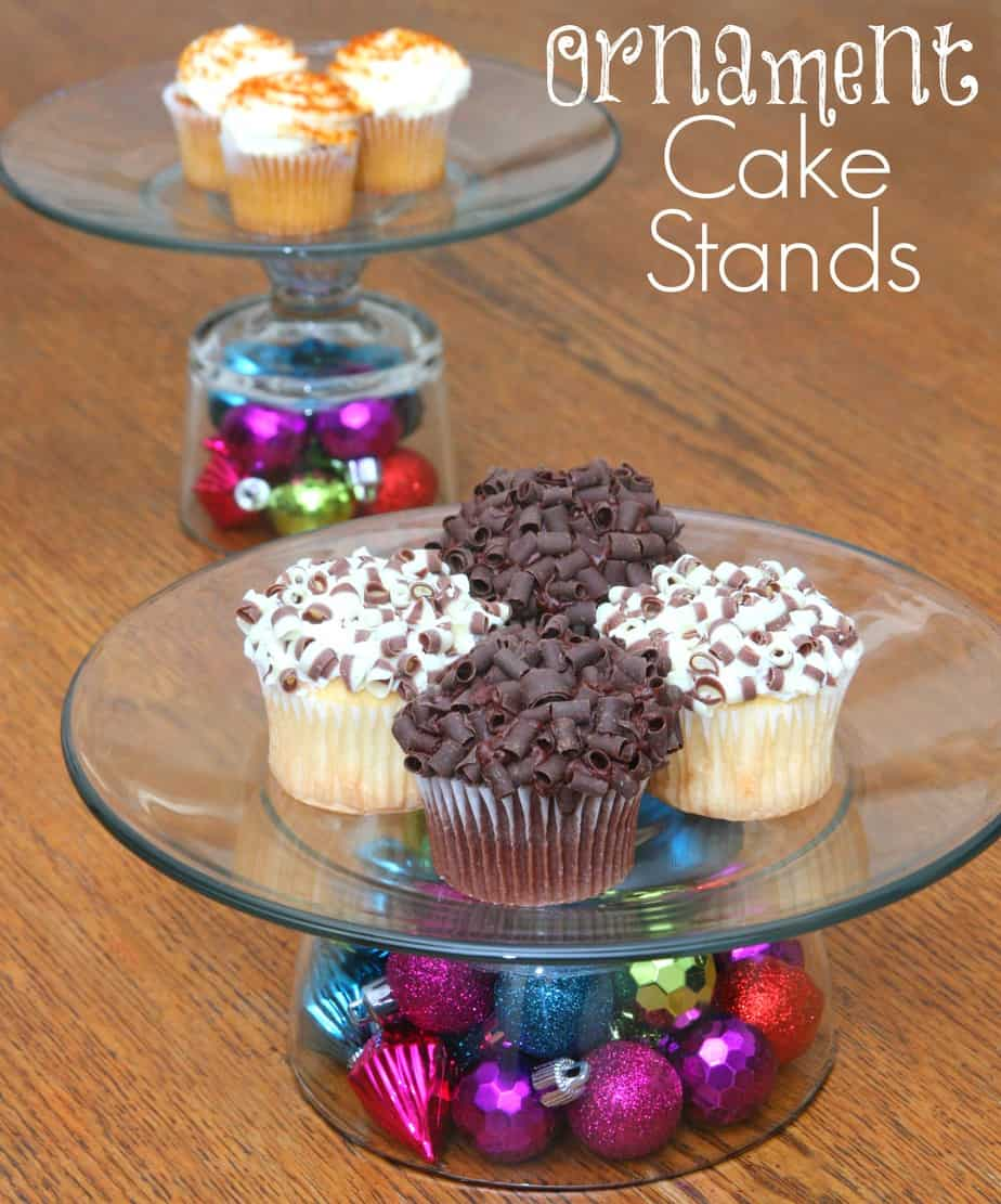 ornament cake stands