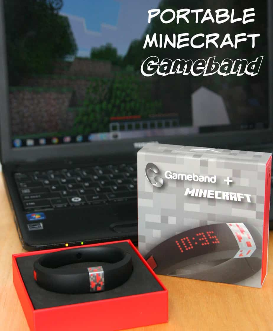 Portable Minecraft Gameband #GameOnTheGo