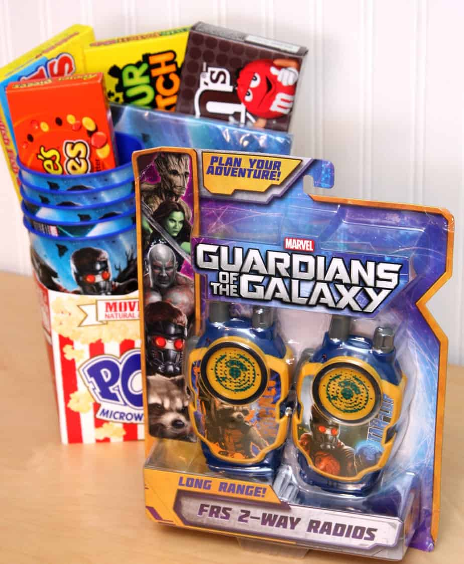 Guardians of the Galaxy Movie Gift Basket