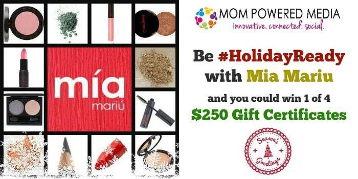 Mia Mariu Holiday Ready Giveaway