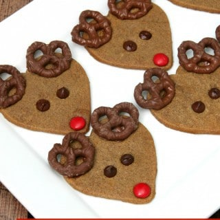 Reindeer Cookies {with 14 Baking Tips and Tricks}