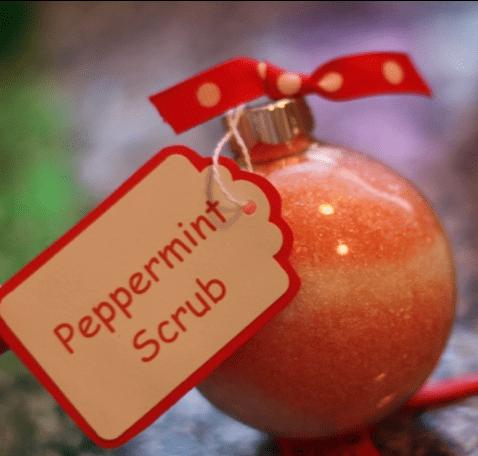 peppermint scrub