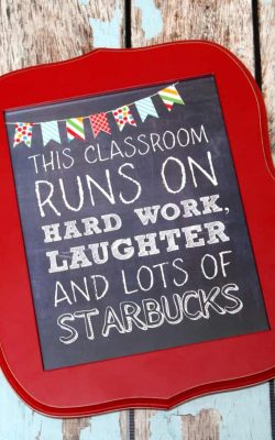 This Classroom Runs on Hard Work, Laughter, and lots of Starbucks