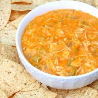 Crock-Pot Chicken Enchilada Dip