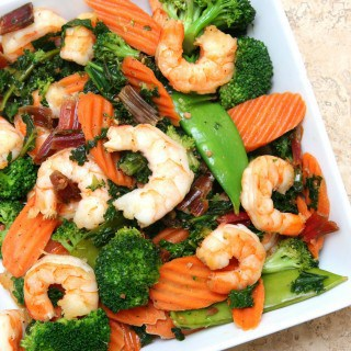 Shrimp Stir Fry with Eat Smart®