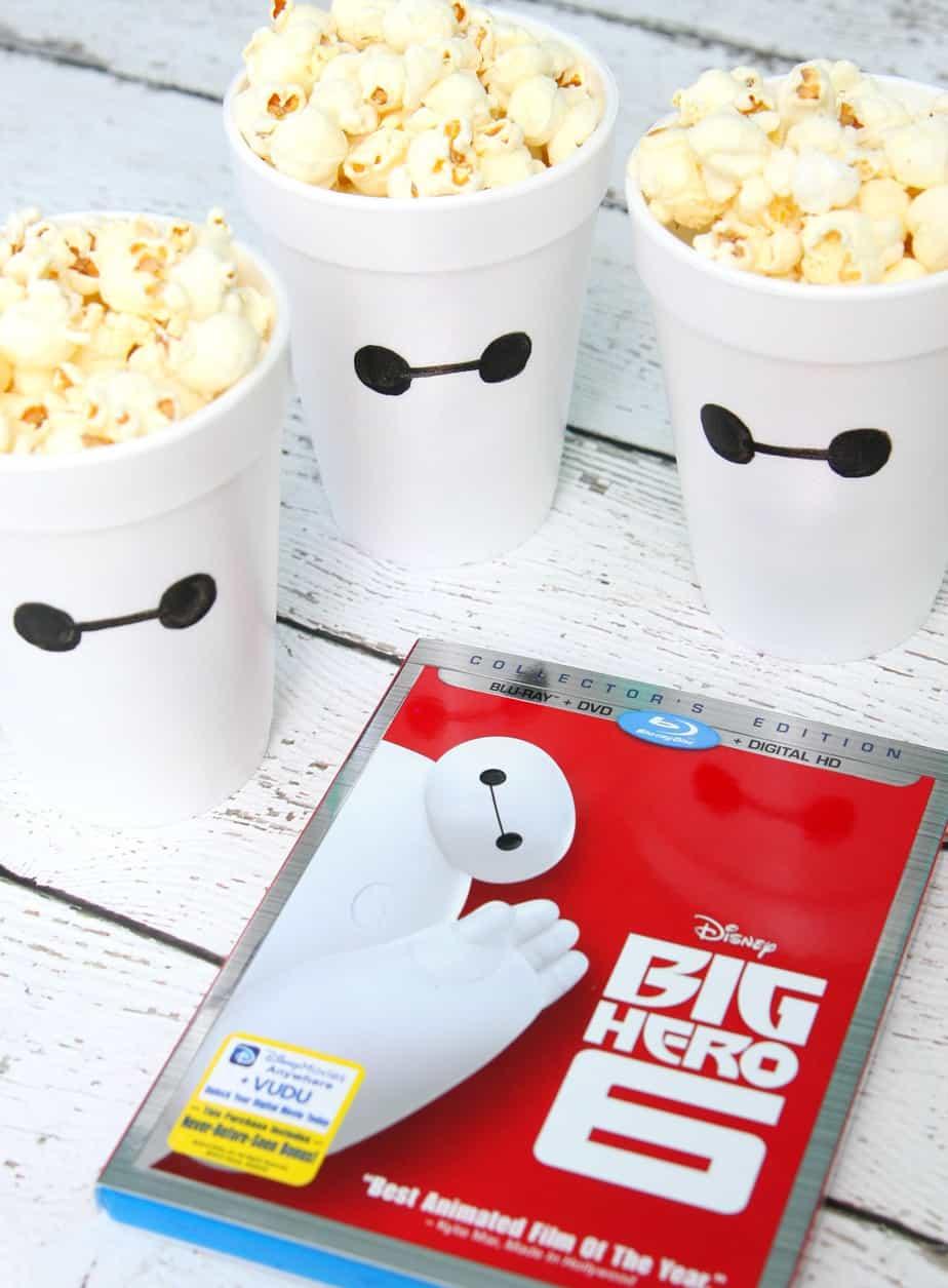 Big Hero 6 Popcorn Cups