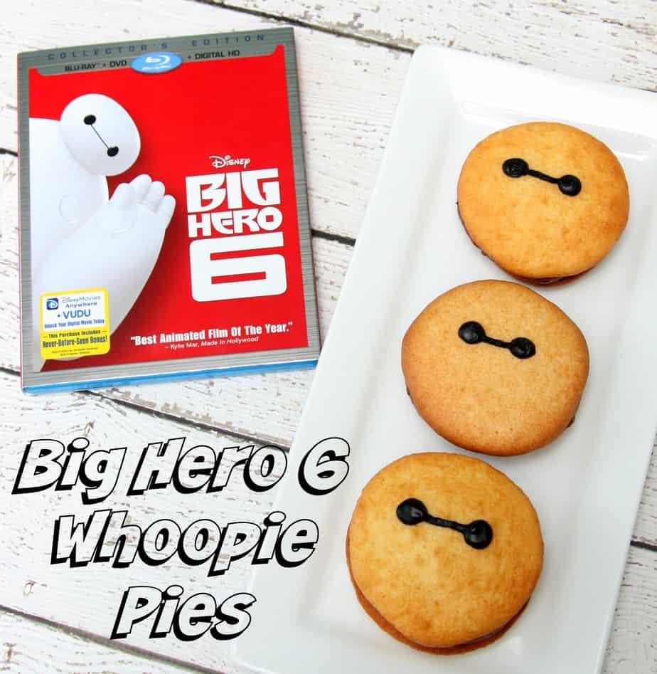 Big Hero 6 Whoopie Pies