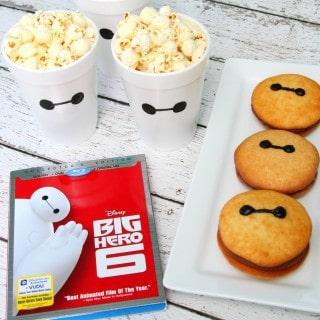 Big Hero 6 Movie Night with Baymax Whoopie Pies
