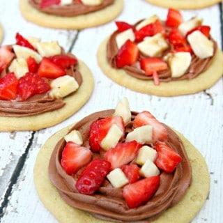 Chocolate Strawberry and Banana Cookies
