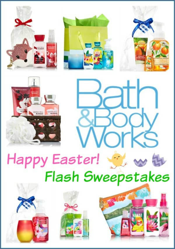 Bath & Body Works Giveaway